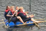 Team building and fun while raft building - Photo Schnurstracks Kletterpark